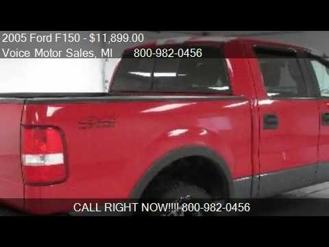2005 ford f150 xlt 4x4 for sale in kalkaska mi 49646 for Voice motors kalkaska michigan