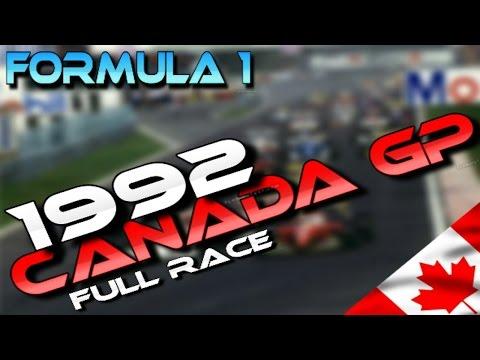 F1 - Canadian GP 1992 (English)
