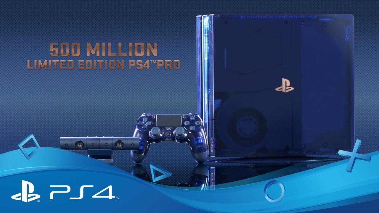 500 million limited edition ps4 australia