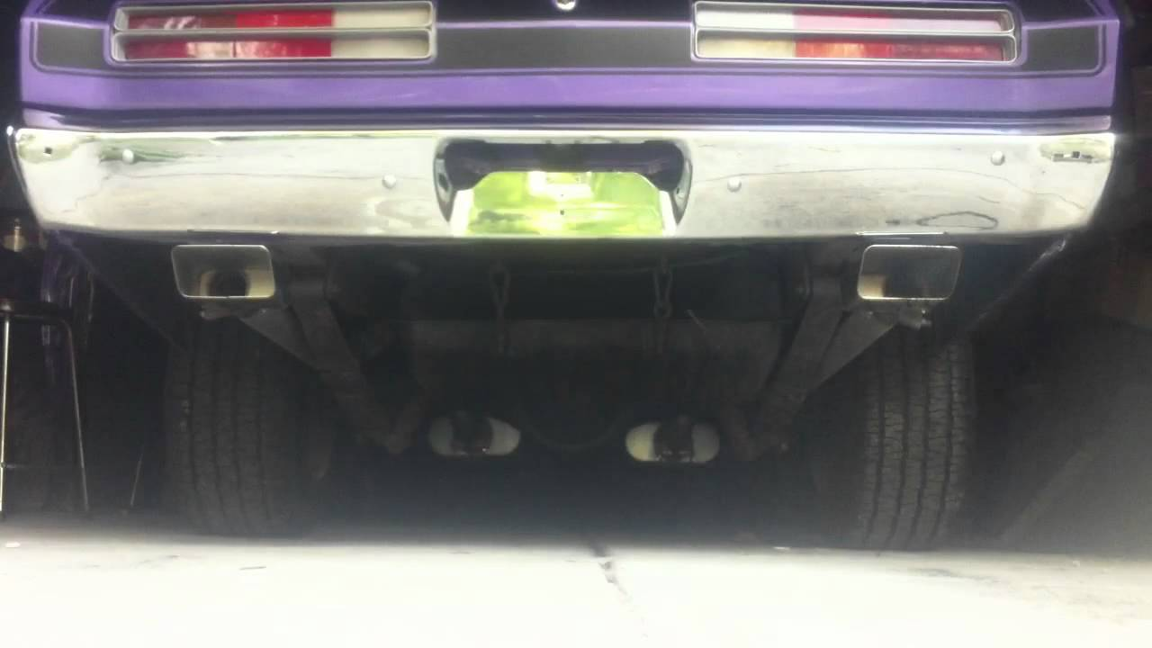 new exhaust tips on my 72 plymouth duster mopar youtube rh youtube com plymouth duster exhaust tips plymouth duster dual exhaust