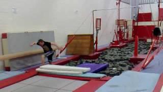 foam pit trampoline moves