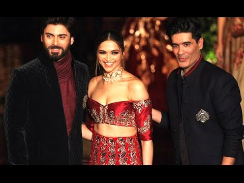 WATCH Gorgeous Deepika Padukone's RAMP Walk with Fawad Khan for Manish Malhotra