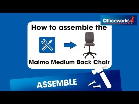Malmo Medium Back Chair Assembly Instructions