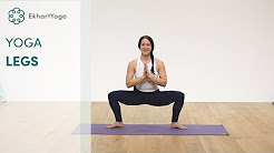 yoga for legs knees and feet  youtube