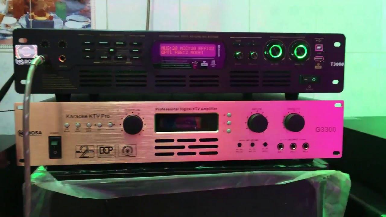 Demo Amply Karaoke Digital BOSA T3000 | Tuyệt Tác Công Nghệ âm Thanh | Minh Anh AUDIO