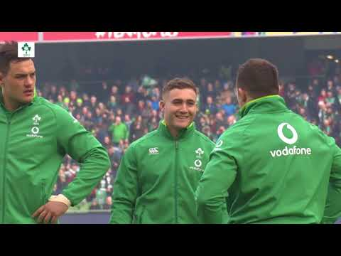 Irish Rugby TV: Ireland v Italy Tunnel Cam
