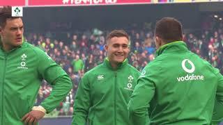 Irish Rugby TV: Ireland v Italy - Tunnel Cam At Aviva Stadium