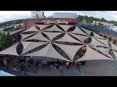 NC Music Factory - Friday Live Concert Series, Aerial Footage