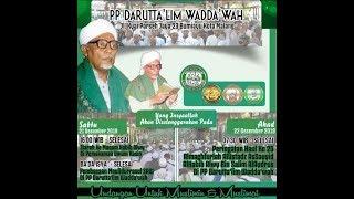 Peringatan Haul Ke 25 Almagfurlah Al ustadz Assayyid Al-Habib Alwi Bin Salim AlAydrus  22,12.2019