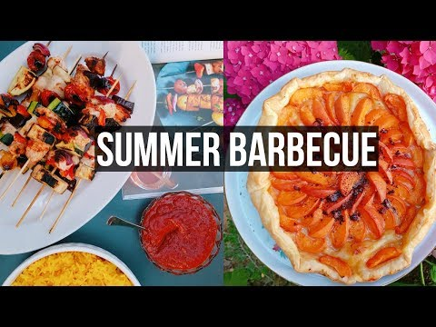 HEALTHY SUMMER BARBECUE 🍹☀️ On cuisine en LIVE 4 RECETTES D'ETE !