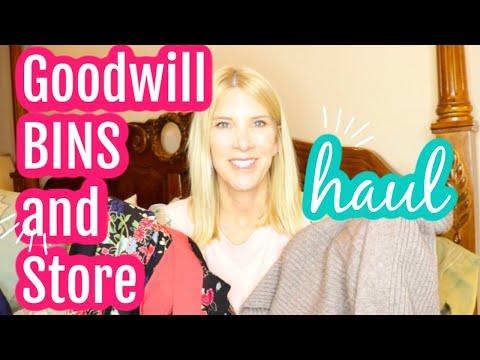 Sacramento Goodwill BINS Haul And Thrift Store
