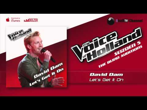 David Dam - Let's Get It On (The Voice Of Holland 2014 The Blind Auditions Audio)