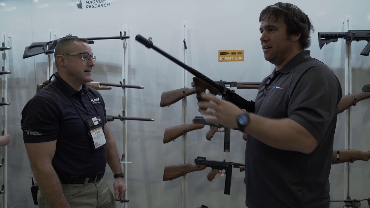 Auto Ordnance 9mm Tommy Gun — SHOT Show 2018