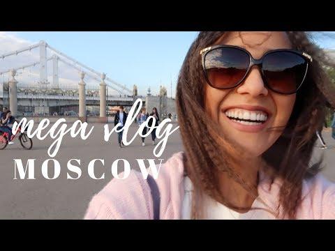 MEGA MOSCOW VLOG 2017 || Travel Vlog || KONUL