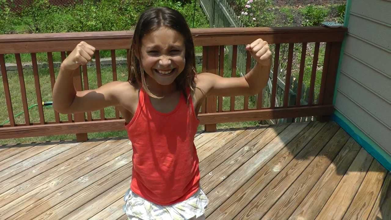 Lily strong arm - YouTube  Lily strong arm...