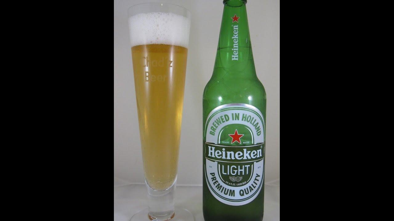 Delightful Heineken Light Lager Beer Review