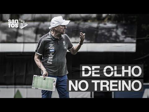 SANTOS INTENSIFICA TREINOS NO CT REI PELÉ | DE OLHO NO TREINO (14/01/20)