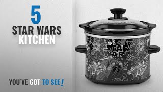 Top 10 Star Wars Kitchen [2018]: Star Wars 2-Quart Slow Cooker