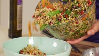 Barley salad - The Jean Hailes Kitchen