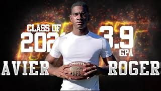 What Is Grit?  Grit is ME !  (Xavier Rogers (Linebacker) - Class of 2021 (age 16, GPA 3.9)