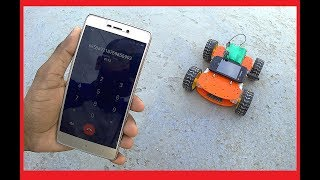 How to Make a Mobile Controlled Robot | DTMF | Without Microcontroller & Programming | RoboGeeks