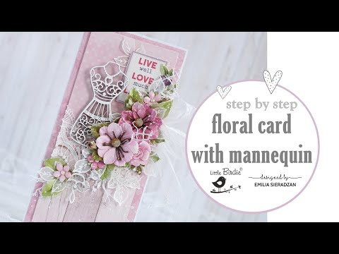 Floral Card with