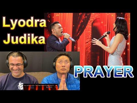 LYODRA X JUDIKA  - The Prayer (Andrea Bocelli, Celine Dion) - Reaction