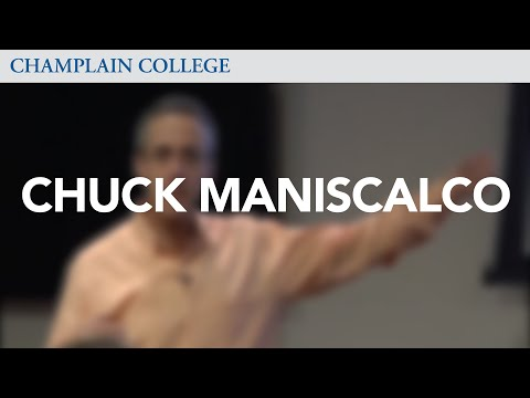 Chuck Maniscalco: Speaking from Experience