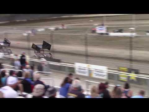 Deming Speedway, WA - Micro 600 Open Heat Race - August 17, 2019