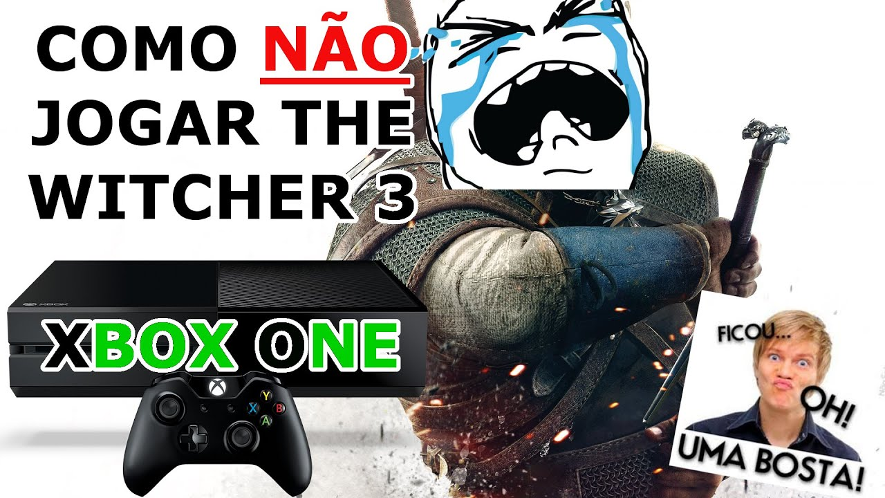 the witcher 3 como n o jogar xbox one gameplay bosta youtube. Black Bedroom Furniture Sets. Home Design Ideas
