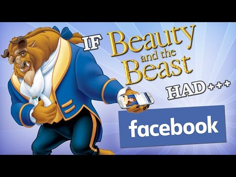 IF DISNEY HAD FACEBOOK: BEAUTY AND THE BEAST EDITION
