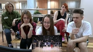 Video Coffee dance: Stray Kids - Hellevator (dance practice reaction) [1 of 2] download MP3, 3GP, MP4, WEBM, AVI, FLV Juli 2018