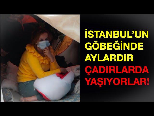 İSTANBUL'UN GÖBEĞİNDE ÇADIR HAYATI