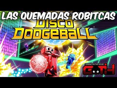 LA QUEMADAS ROBOTICAS DISCO WTF! Robot Roller Disco Dodgeball en Español - GOTH
