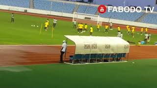 Ghana vs South Africa AFCON 2021Qlify  Black Stars training session  Cape coast Sports Stadium
