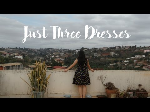 Just Three Dresses - out of African fabric