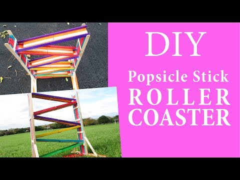 How to Make a Toy Slide with Popsicle Sticks