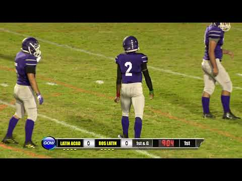 Game of the Week: Latin Academy Dragons vs. Boston Latin Wolfpack (Football)