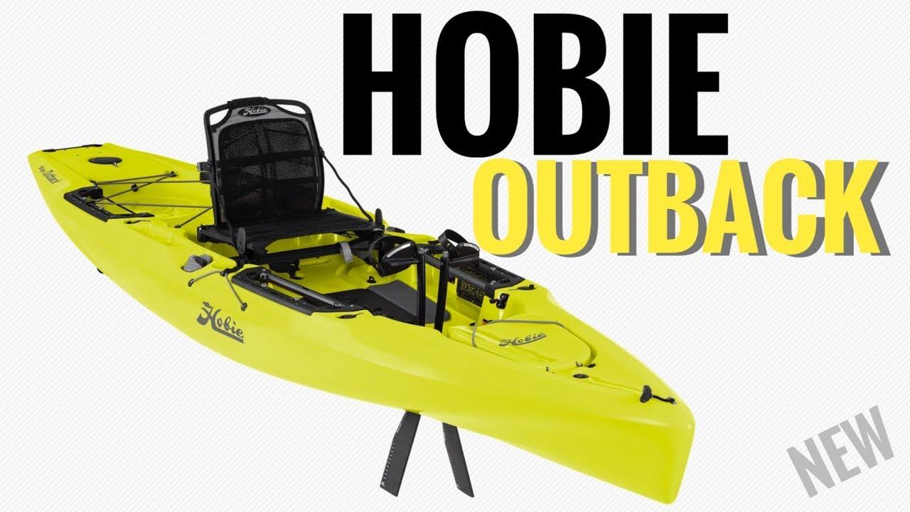 6689c32673 NEW  2019 Hobie Outback Kayak - YouTube
