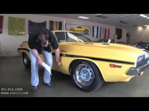 640hp! 528cid 1970 Hemi Dodge Challenger R/T For Sale With Test Drive, Walk Through Video
