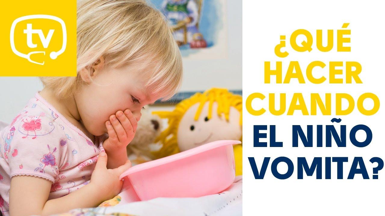 tratamiento para los vomitos en niños