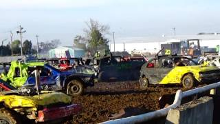 Fairfield, IL Pumpkin Smash Demo Derby 10/29/16