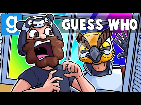 Gmod Guess Who Funny Moments - Scaring Panda in Nuketown! (Garry's Mod) thumbnail