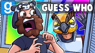 Gmod Guess Who Funny Moments - Scaring Panda in Nuketown! (Garry