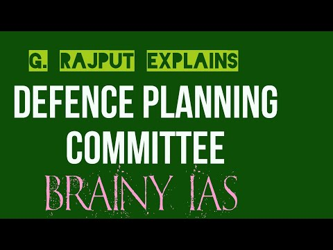 Defence planning committee