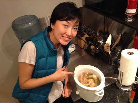 My Chinese Recipes  How To Cook Chicken Soup From Scratch!