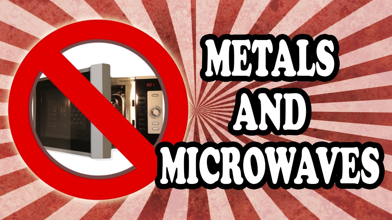 Why you can 39 t put metals in the microwave youtube - Things never put microwave ...