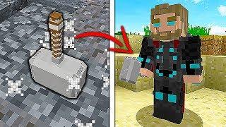 ZNALAZŁEM MŁOT THORA I STAŁEM SIE BOGIEM PIORUNÓW  - Minecraft: Przygody z Flotharem #21