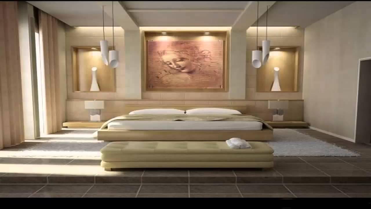 ديكورات جدران غرف نوم كشخة       YouTube