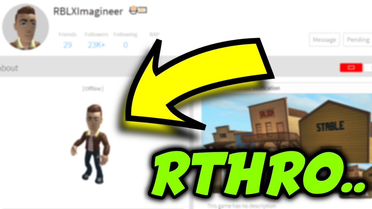 First roblox account to get the new Anthro/Rthro Package in roblox